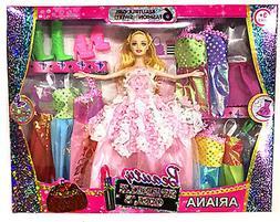 Dresses For Barbie Dolls Clothes Accessories Toys Dream Sets