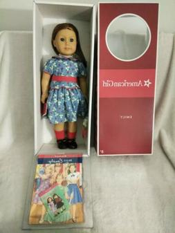 American Girl EMILY DOLL and BOOK retired NEW IN BOX