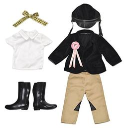 "Kindred Hearts Dolls 18"" Equestrian Outfit"
