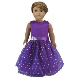 Ebuddy Fashion Butterfly Doll Dresses Fits 18 Inch