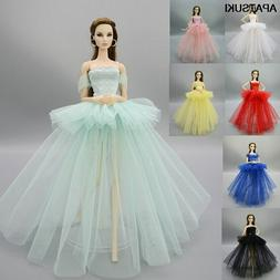 Fashion Costume Clothes For 11.5in. Doll Dress Party Dresses
