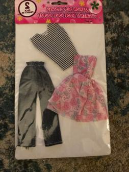Fashion Doll Clothes  Fits Barbie Size Dolls. Free Shipping