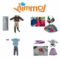Lammily Fashion Doll Clothes: Aviator, Movie Night, Aloha Gi