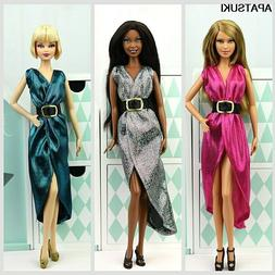 Fashion Doll Clothes Evening Dress For 1/6 Doll Clothes 11.5