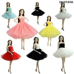 "Fashion Doll Clothes Short Ballet Dress For 11.5"" Doll Outfi"