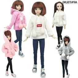 Fashion Doll Clothes Sweatshirt Coat For 11.5in. Doll Outfit