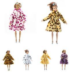 Fashion Doll Winter Coat For  Dolls 1/6  FR  Doll Clothes VV