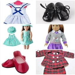 Fashion Dresses and Pant Sets Accessories for 18 inch Dolls.