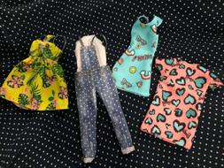 Fashionista Barbie Doll Dresses Clothing Lot Outfits Clothes