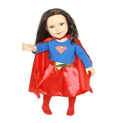 Arianna Fits American Girl 18 inch Doll - SuperGirl 4PCS Dol