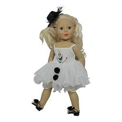 Arianna 18 Inch Doll Clothes | Olaf Snowman 2pcs Outfit Incl