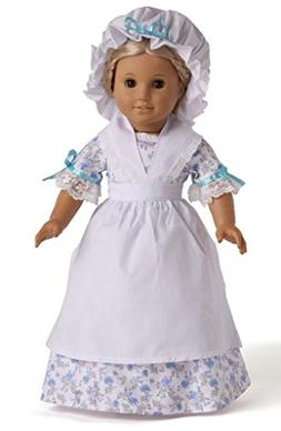 "6PC Floral Victorian Dress Doll Clothes for 18"" American Gir"