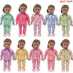 <font><b>Doll</b></font> Pajamas Nightgown <font><b>Sleepwea