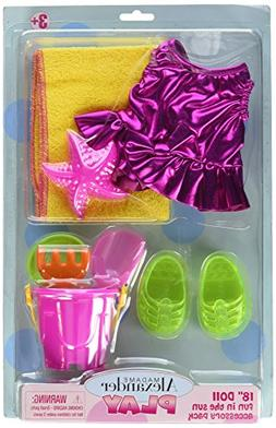 Madame Alexander Fun in the Sun Accessory Pack Playset