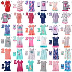 Girl 4-14 and Doll Matching Nightgown Pajama Clothes America