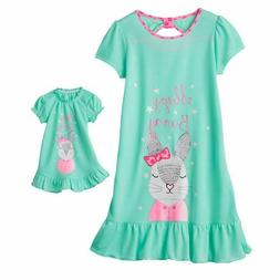 0aecd49d52 Girl and Doll Matching Sleepy Bunny Nigh... By So. USD  16.99. Girl 4-14  and Doll Matching Unicorn Nightgown Clothes ft Ame