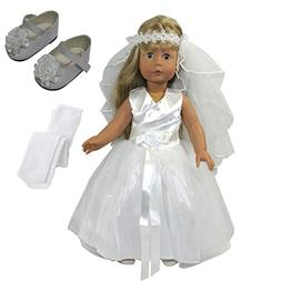 Arianna 18 Inch Doll Clothes| Glorious Day 5pcs Complete Bri