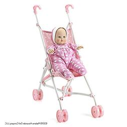 Madame Alexander Baby Goes for a Ride Stroller and Doll