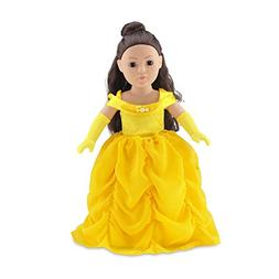 18 Inch Doll Clothes | Gorgeous Princess Belle-Inspired Ball