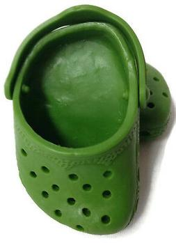 Green Duc Shoes fits 18 inch American Girl Doll Clothes