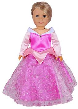 Ebuddy Halloween Coustome Long Sleeve Princess Doll Dress Cl