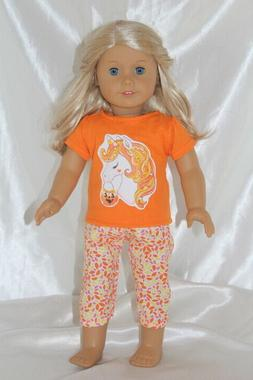 Halloween Dress Outfit fits 18inch American Girl Doll Clothe