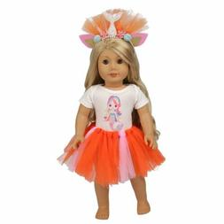 ZITA ELEMENT Handmade Outfit for American 18 Inch Girl Doll
