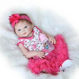 "23"" Handmade Reborn Baby Doll Girl Toddler Realistic Vinyl D"
