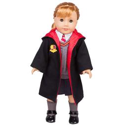 Dress Along Dolly Hermione Granger- Inspired Doll Clothes fo