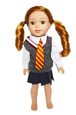 My Brittany's Hermione Granger Inspired School Uniform for W