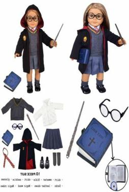 ebuddy Hermione Inspired Doll Clothes Outfits for American G