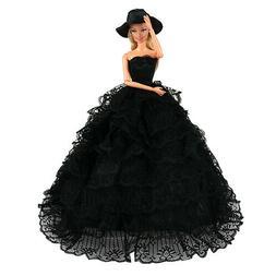 Barwa High quality Black tail skirt For Barbie Doll