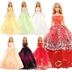 Barwa High quality Fixed five half skirts for Barbie Doll