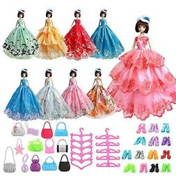 Barwa Homemade Barbie clothes and Accessories 1/6 for dolls