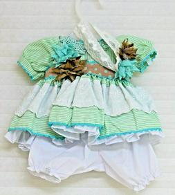 """Adora - """"Honey Bunch"""" Outfit only - Fits 20 inch dolls - 3 p"""