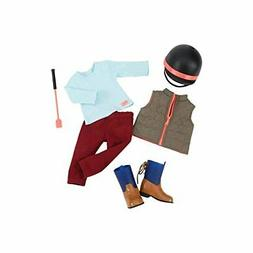 Our Generation Horse Back Riding Outfit for 18 Dolls