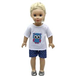 "Hot~ Fits 18""  inch Doll 43cm Baby Dolls Handmade fashion Do"