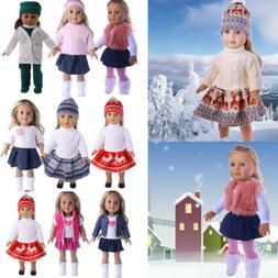 Hot Madame Handmade fashion Doll Clothes dress For 18 inch G