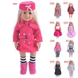 Hot Madame Handmade fashion Doll Clothes dress For 18 inch