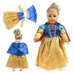 Hot sale Snow White suit for 18 inch American girl doll clot