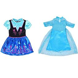 ebuddy Ice and Snow Sparkle Princess Dress Clothes Fits 18 i