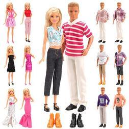 Mylass Lot 15 Items for Ken and Barbie Doll EU CE-EN71 Certi