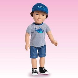 "My Life As Boy 18"" Doll Clothes Jean Shorts Outfit Hat Ameri"