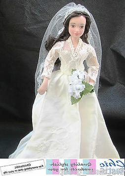 Kate Middleton porcelain doll Princess royal bride in replic