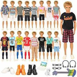 Barwa Ken for clothes Barbie 22 sheets for clothes Ken for H