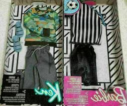 Barbie And Ken Referee Career Casual Fashion Outfits Lot Of