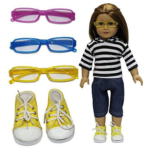 1 set american doll outfits