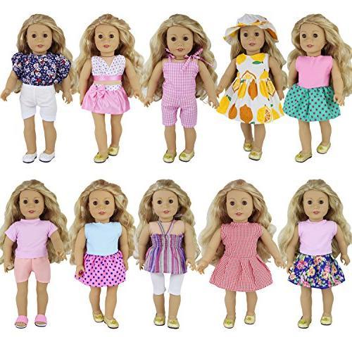 10 sets american doll handmade