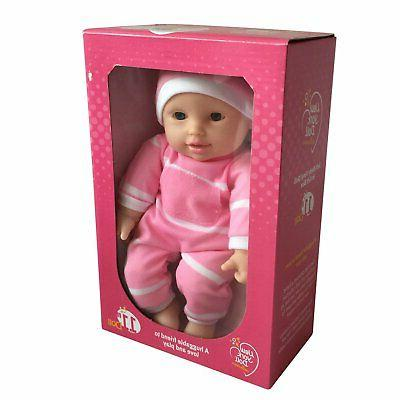 "11 inch Soft Body Doll in Gift Box 11"" Baby Doll Caucasian G"