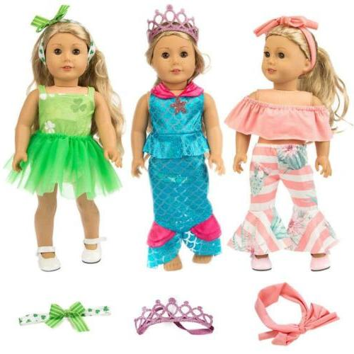 ZITA ELEMENT Clothes Outfits 18 Doll Cosplay